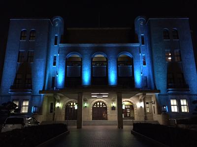 名古屋市公会堂ライトアップ